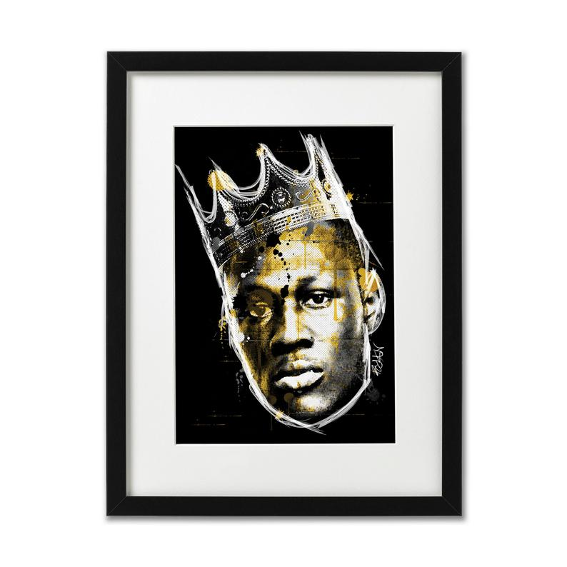 Stormzy King Of Grime  Print