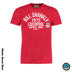 Bill Shankley Liverpool Legends Tshirt