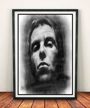 Liam Gallagher 'Sketch' Print