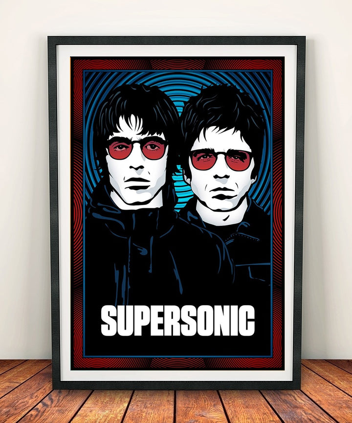 Oasis 'Supersonic' Print