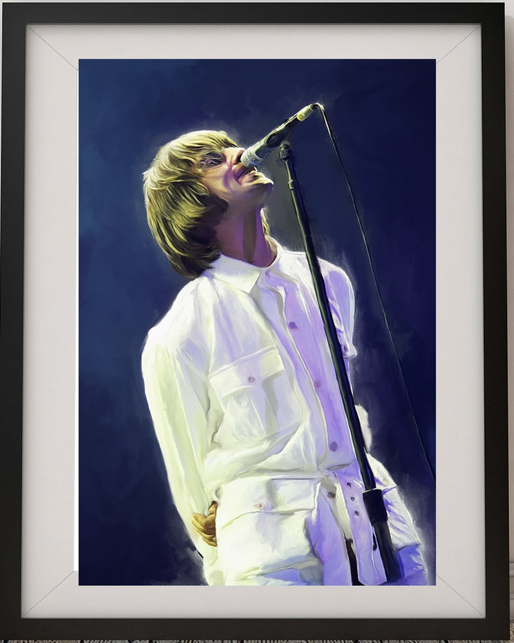Knebworth 1996 Oil on Canvas Print  1/100