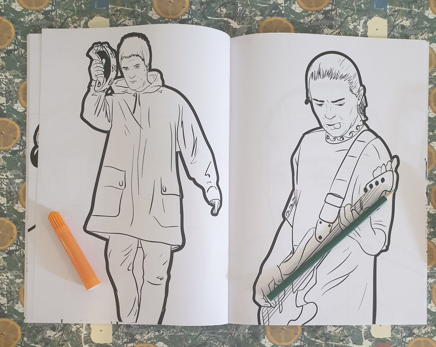 Manchester Music Volume 1 & 2 Colouring Book Set