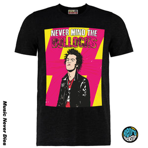 Nevermind The Bolloc*s Sex Pistols Johnny Rotton Tshirt