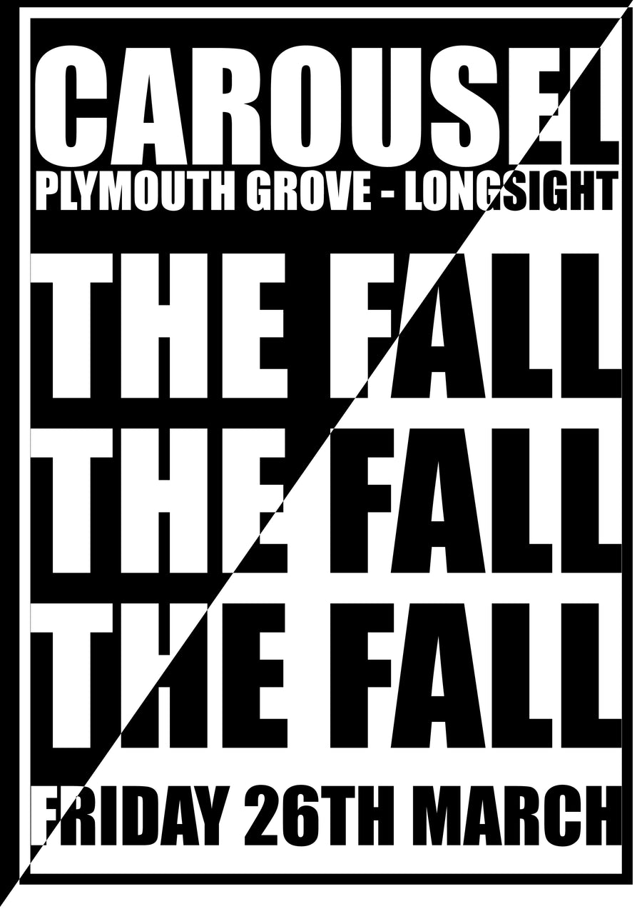 The Fall at THe Carousel  Remixed Print
