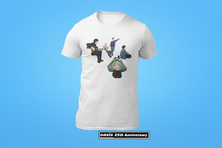 Oasis 25 Years of Definitely Maybe Tshirt