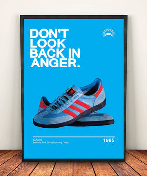 Oasis 'Dont Look Back In Anger' Print