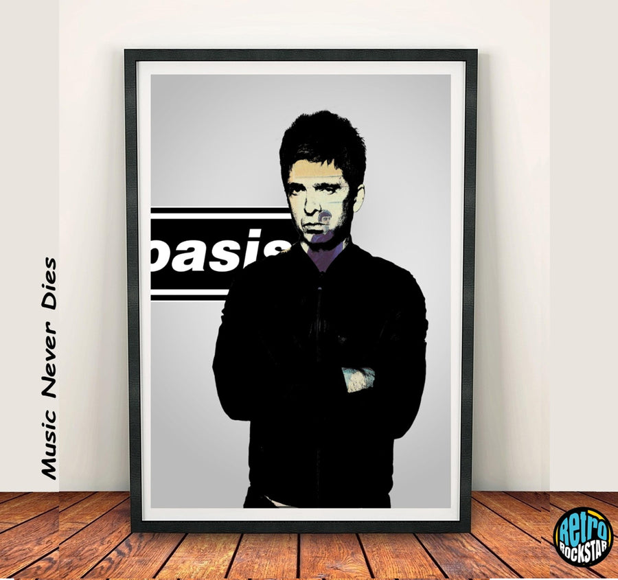 Noel Gallagher 'Def Maybe' & Liam Gallagher 'Morning Glory' Print Set