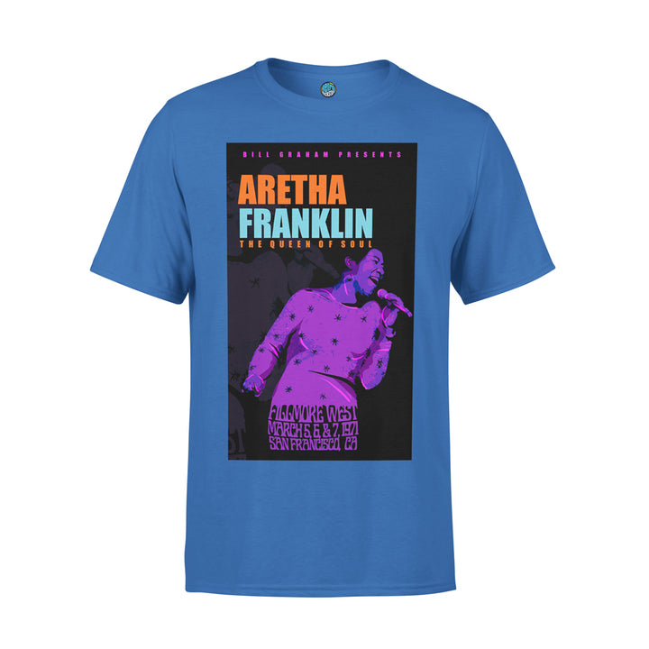 Aretha Franklin 'Fillmore West 1971' Tshirt
