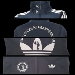 Spike Island Anniversary Custom Made Originals Tracksuit Jacket & Bucket Hat Set