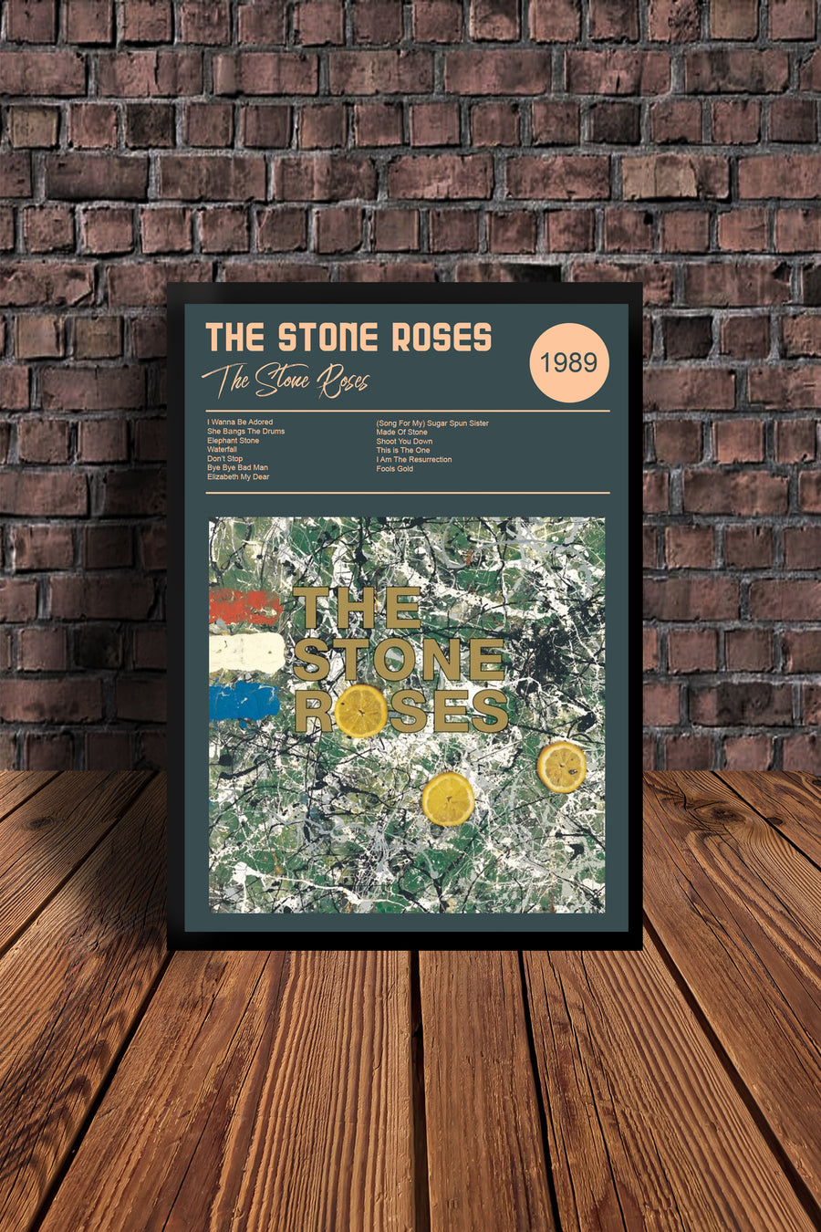 The Roses Debut Album & Second Coming  Print Set