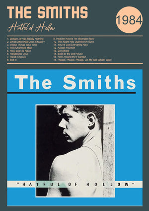 The Smiths Hatful of Hollow  Remixed Print