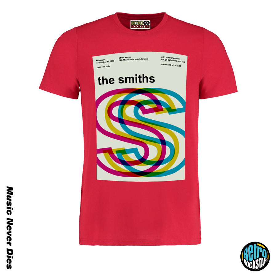 The Smiths 1983 Gig Tshirt