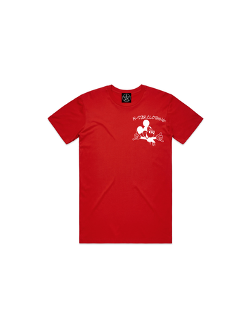 MAKING MOVES YOUTH TEE RED