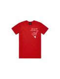 MSTAR SALUTE YOUTH TEE RED