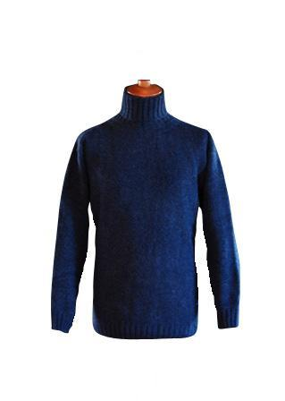 John Molloy Mens Merino Polo Sweater