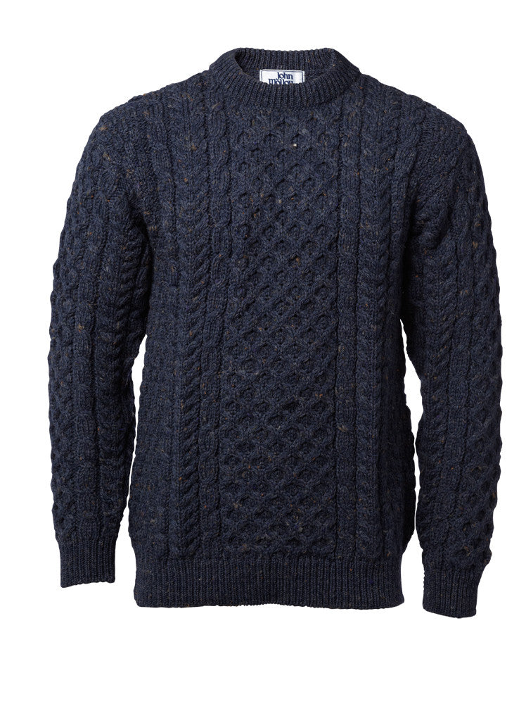 John Molloy Aran Fisherman Sweater.
