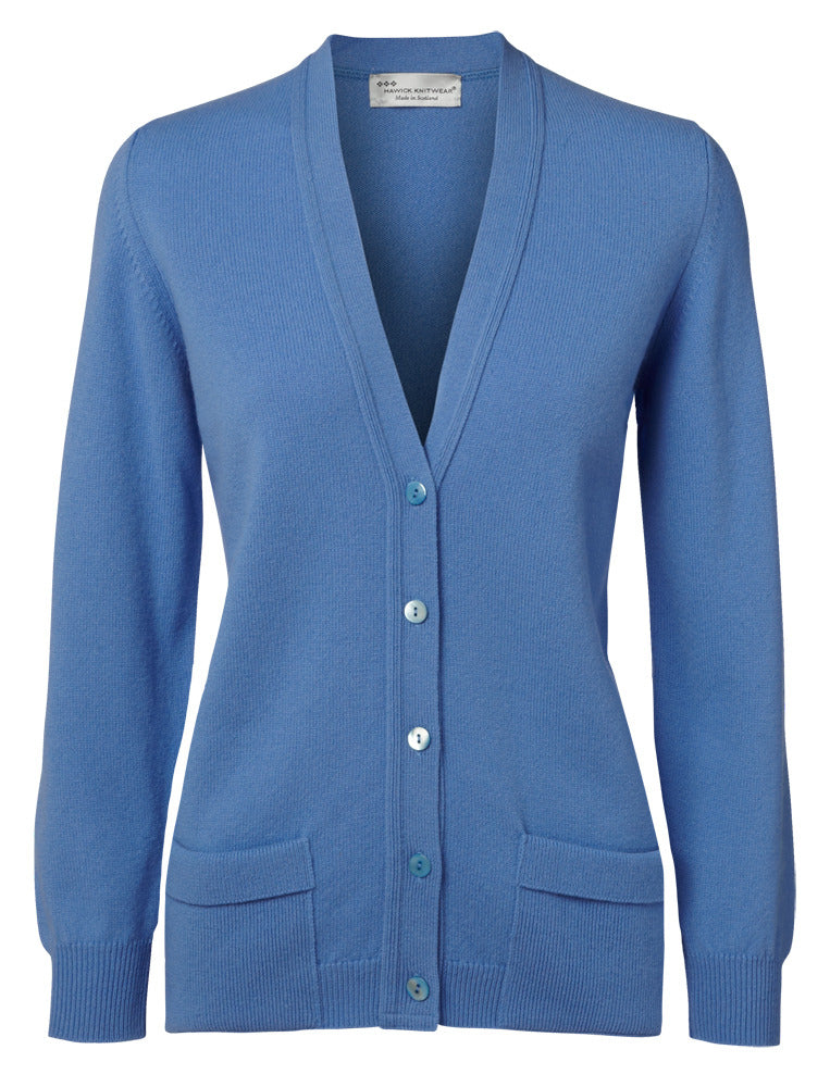 Hawick Knitwear Ladies Luksus Cardigan.
