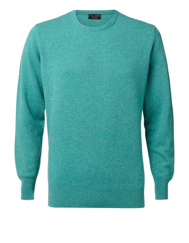 Hawick Knitwear Mens Luxury Sweater, Cashmere.