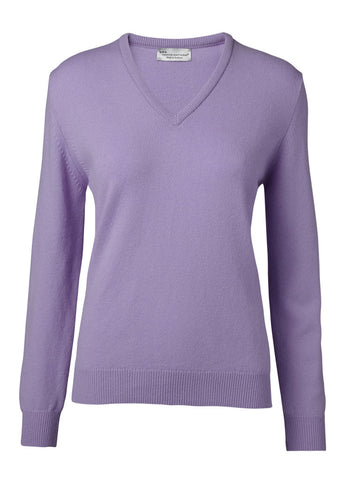 Hawick Knitwear Ladies Luksus Sweater V/hals
