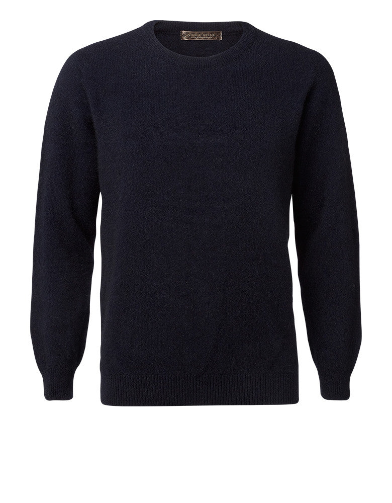 Noble Wilde  Mens Sweater, Cambridge Crew, Merino-Possum