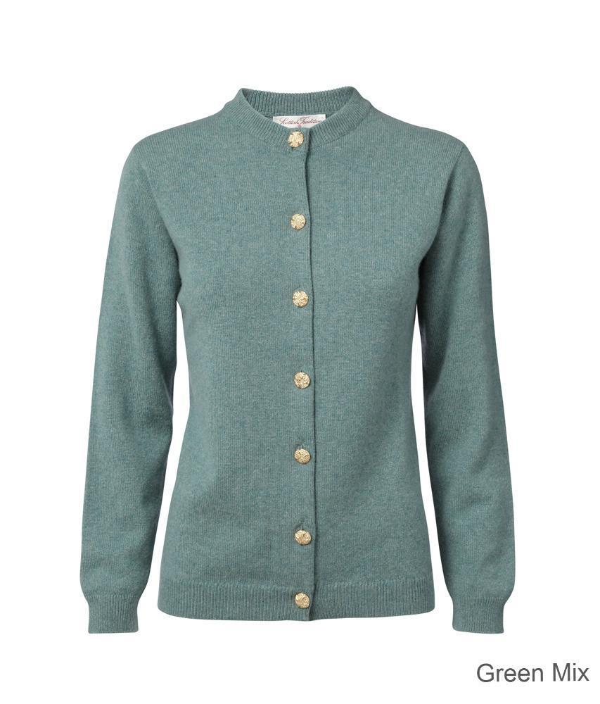 Scottish Tradition Ladies Luxury Cashmere Cardigan.
