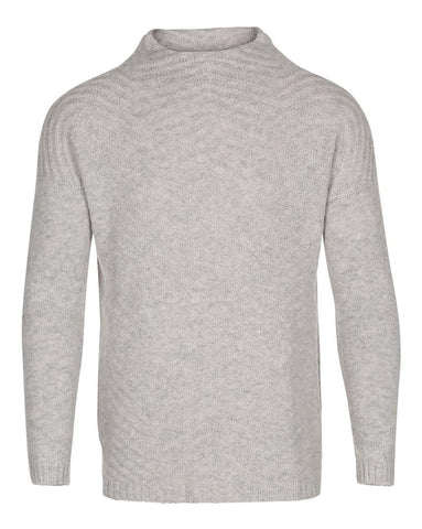 Dame Hawick Knitwear Merino Sweater Grey