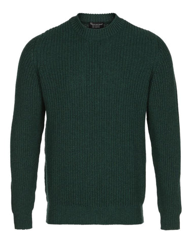 Herre Hawick Knitwear Sweater Green