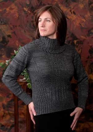 "Peruvian Link Alpaca ""The Jewel"" Ladies Pullover, Baby Alpaca."