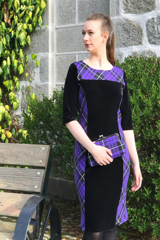 KERRY TARTAN TOUCH PURPLE