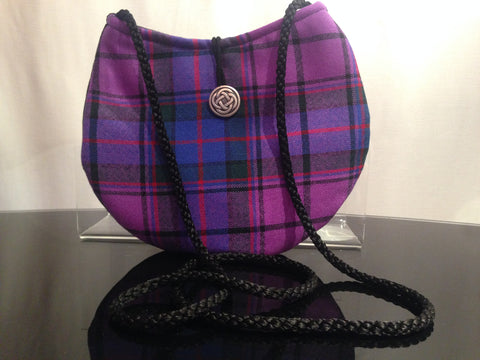 TARTAN TOUCH BAG FLOWER OF SCOTLAND