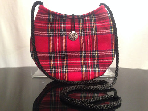 Tartan Touch Grey Face Mask