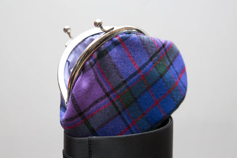 Tartan Touch Purple Face Mask