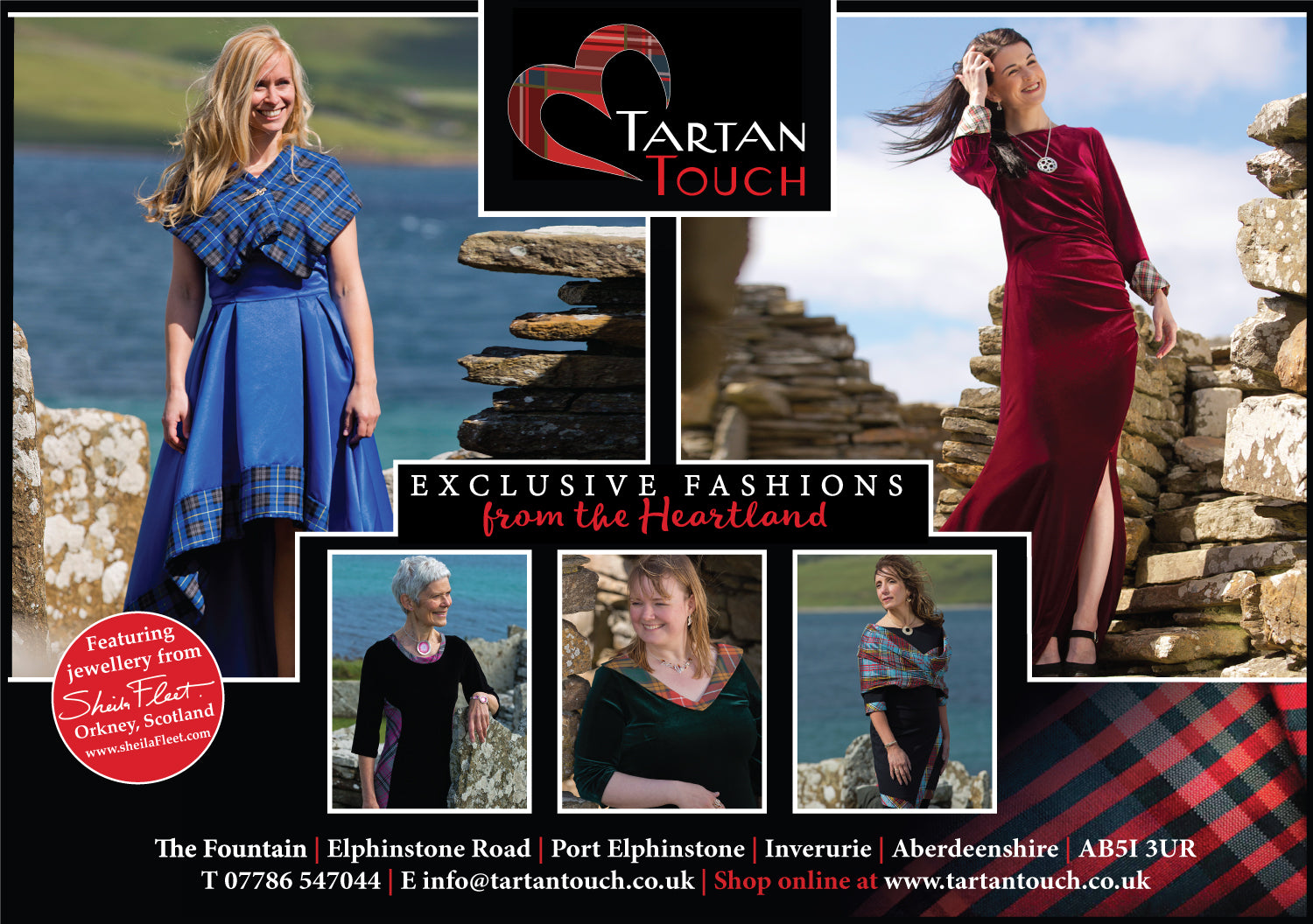 view the entire tartan touch collection