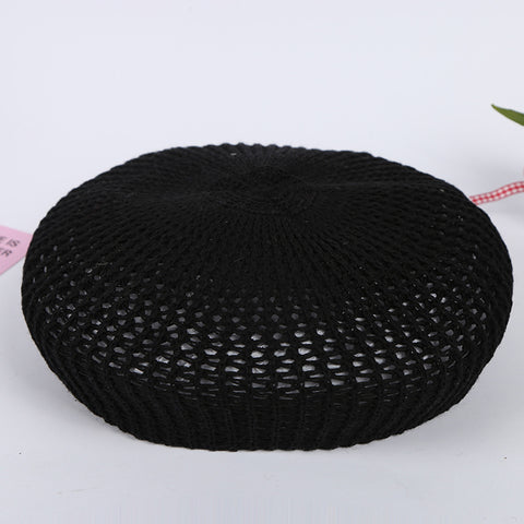 Mesh Pattern Summer Beret 985056 - muchique