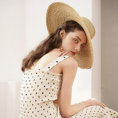 Wide Brim Beach Floppy Hat 691058 - muchique