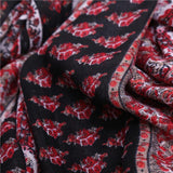 Floral Print Infinity Scarf 771024 - muchique