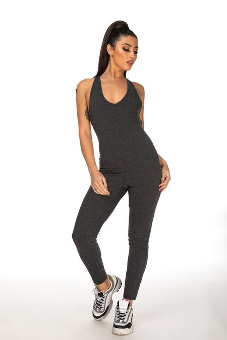 Caitlyn Spaghetti Strap Back Jumpsuit