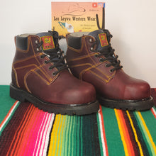 Load image into Gallery viewer, 005 Steel toe Man work boots 🇲🇽 6in