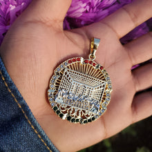 Load image into Gallery viewer, 14k plated gold pendant