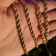 Load image into Gallery viewer, 🔥 14k plated chain 👌🔥