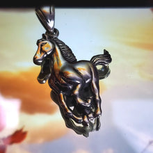 Load image into Gallery viewer, 0043  real silver 925 pendant Caballo / horse