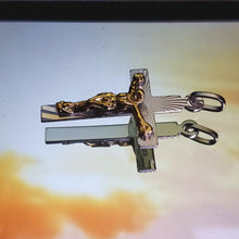 Load image into Gallery viewer, 0042  real silver 925 pendant Cristo