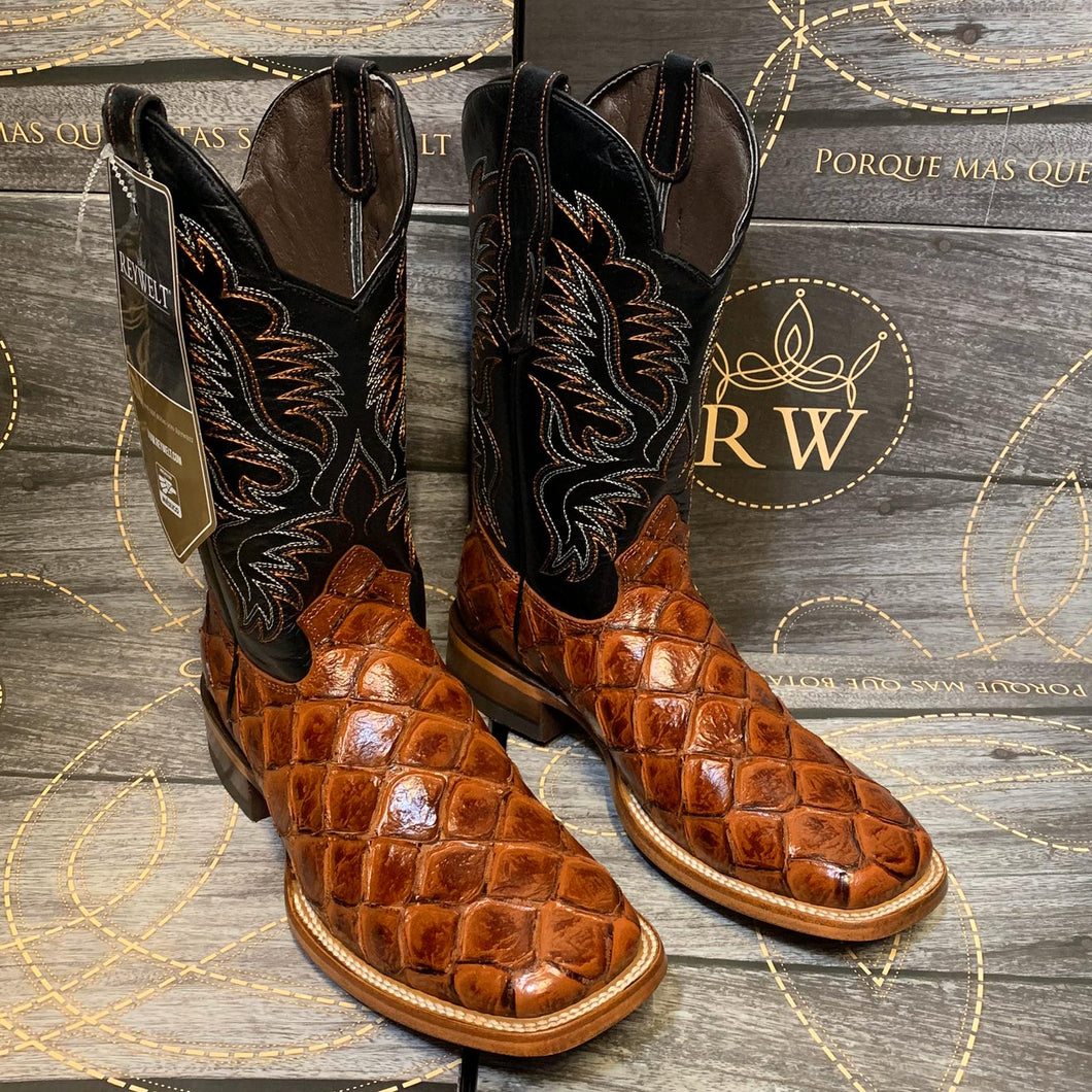001 Man Rodeo boots 🔥 piroluco leather print