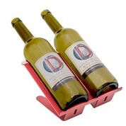 Venetian Freestanding Table Wine Rack - 2 BTLs Rack - RED Special Edition