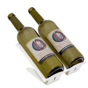 Venetian Freestanding Table Wine Rack - 2 BTLs Rack - WHITE Special Edition