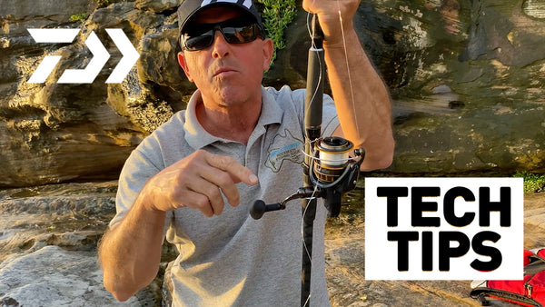 Spooling a Reel - Daiwa Tech Tips
