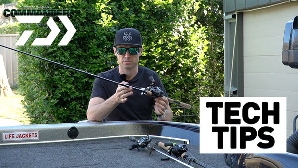 Jig Bass Tackle- Daiwa Tech Tips
