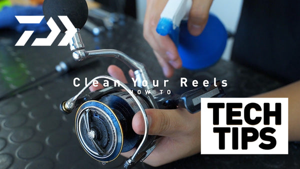 How to Clean Your Reel- Daiwa Tech Tips