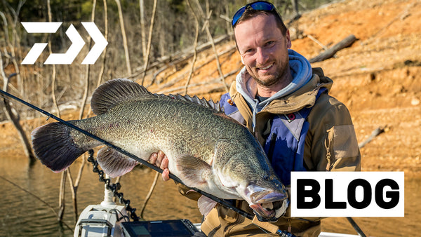 Setting up for Winter Murray Cod