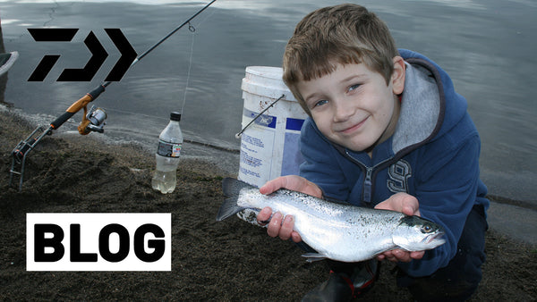 How to Catch Rainbow Trout With The Kids